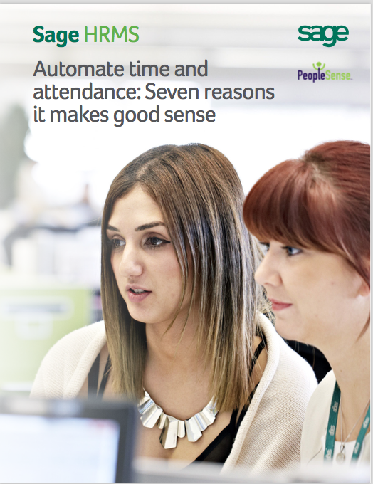 Automate Time and Attendance White Paper PeopleSense