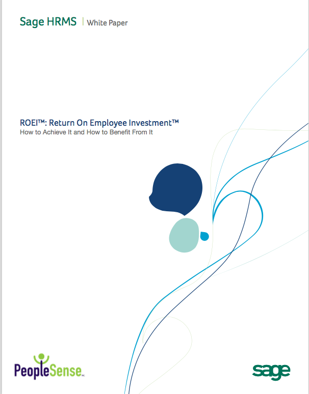 Return on Employee Investment White Paper PeopleSense